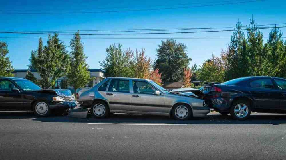medium resolution of who is at fault in a chain reaction vehicle accident