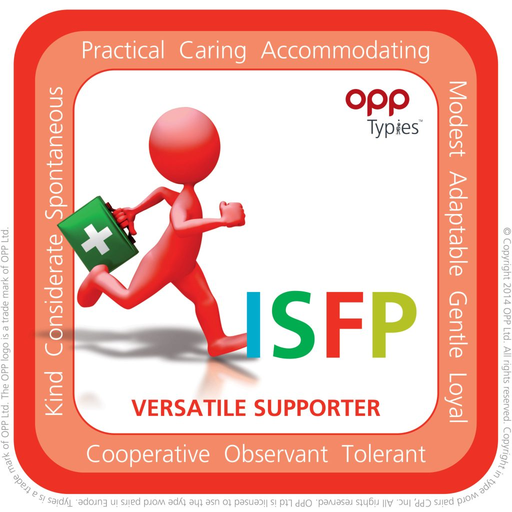 ISFP Typie, willerby hill hr, hr advice hull, mbti east yorkshire, mbti hull