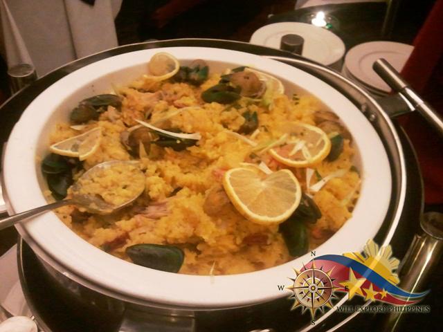 Arroz ala Valenciana at Te Quiero Restaurant Microtel Baguio