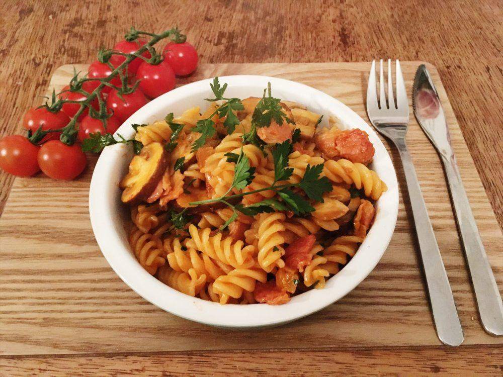 fennel bacon pasta