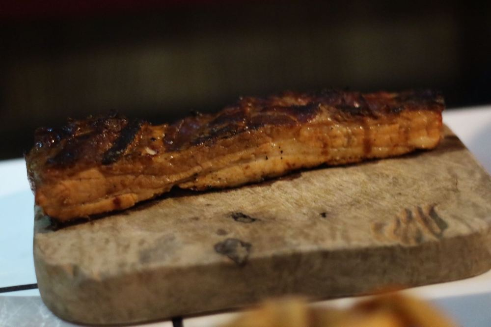 pork belly strip