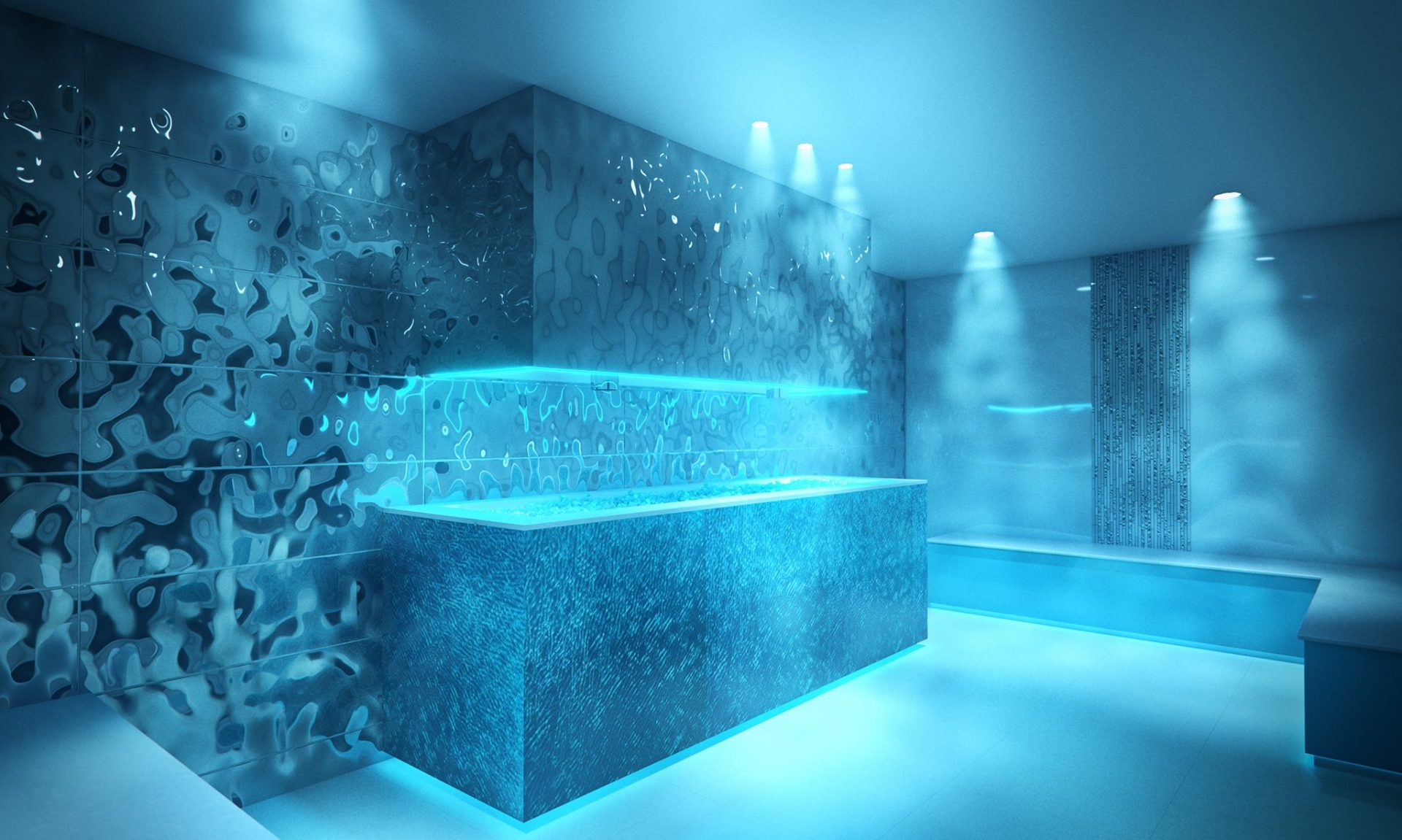 Ice Room at Thermae Bath Spa