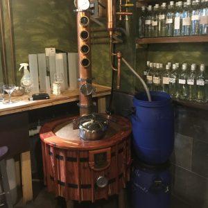 Bath Gin Moonshine fermentation tank