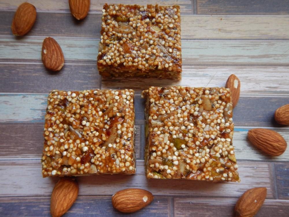 Nutty Quinoa Bars