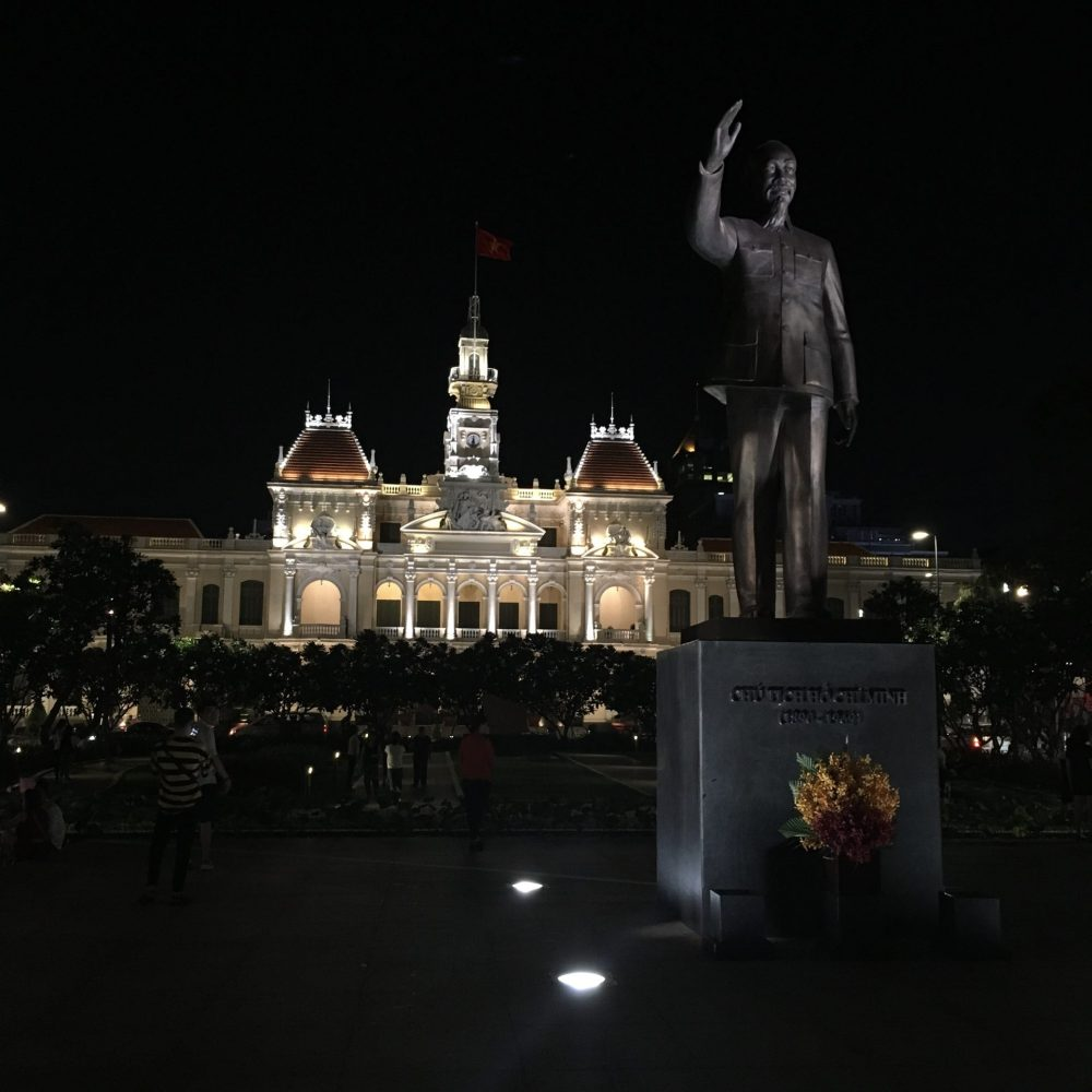 Opera House and Ho Chi Minh Statue