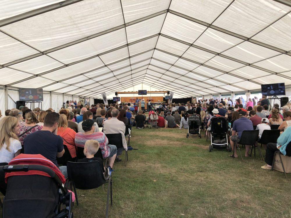 Exhibitor Tent Wollaton Park Food Festival