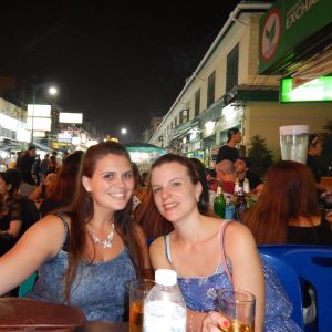 Drinking of Khao San Road