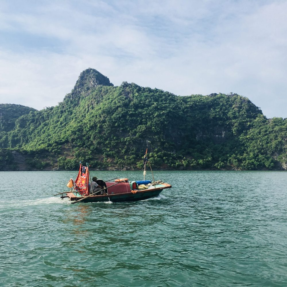 Boat in Halong
