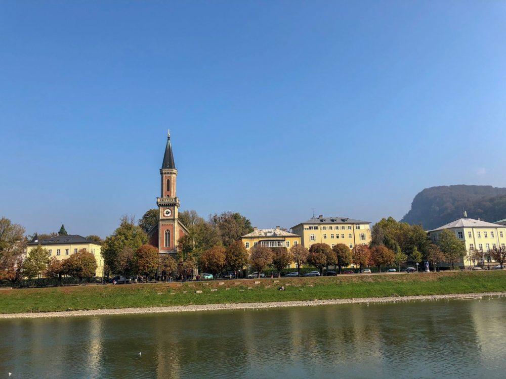 Salzach, Salzburg