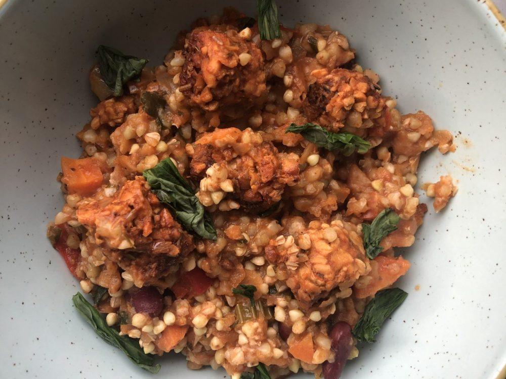 Buckwheat Jambalaya