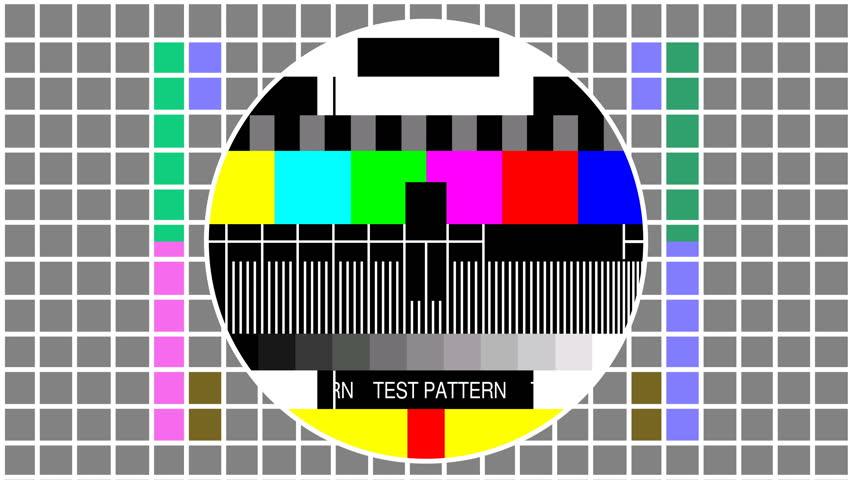 Colour Test TV