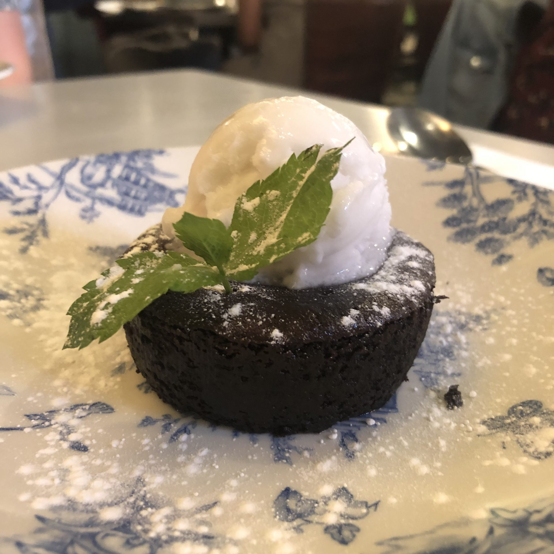 Bills Restaurant Vegan Dessert
