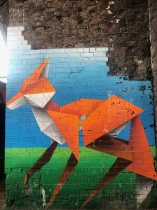 Birmingham Digbeth Graffiti Art – by Annatomix under the arches