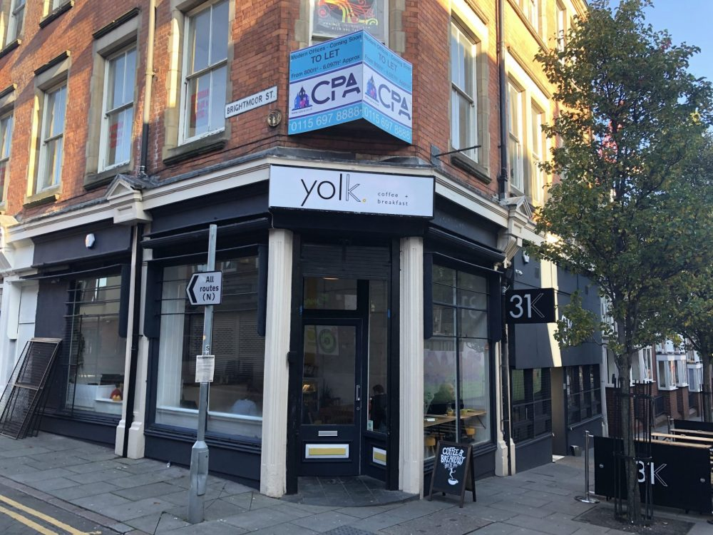 Yolk Nottingham from outside