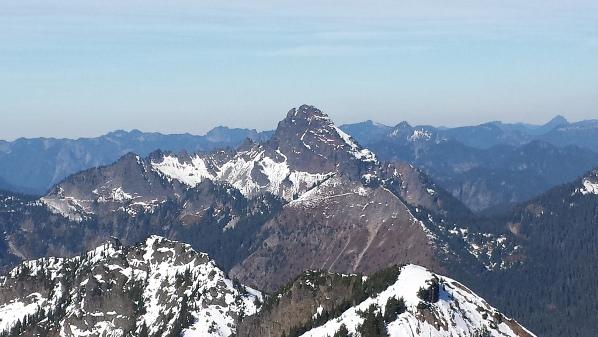 Hibox Mountain  Alpine Lakes Wilderness