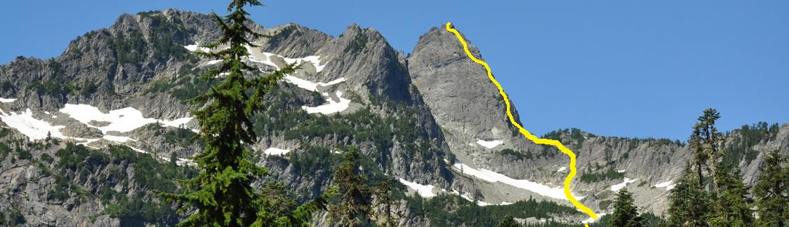 Chair Peak  NE Ridge