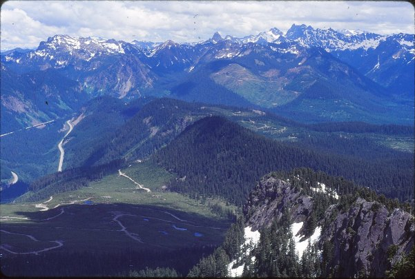 Silver Peak  Snoqualmie Pass Hiking