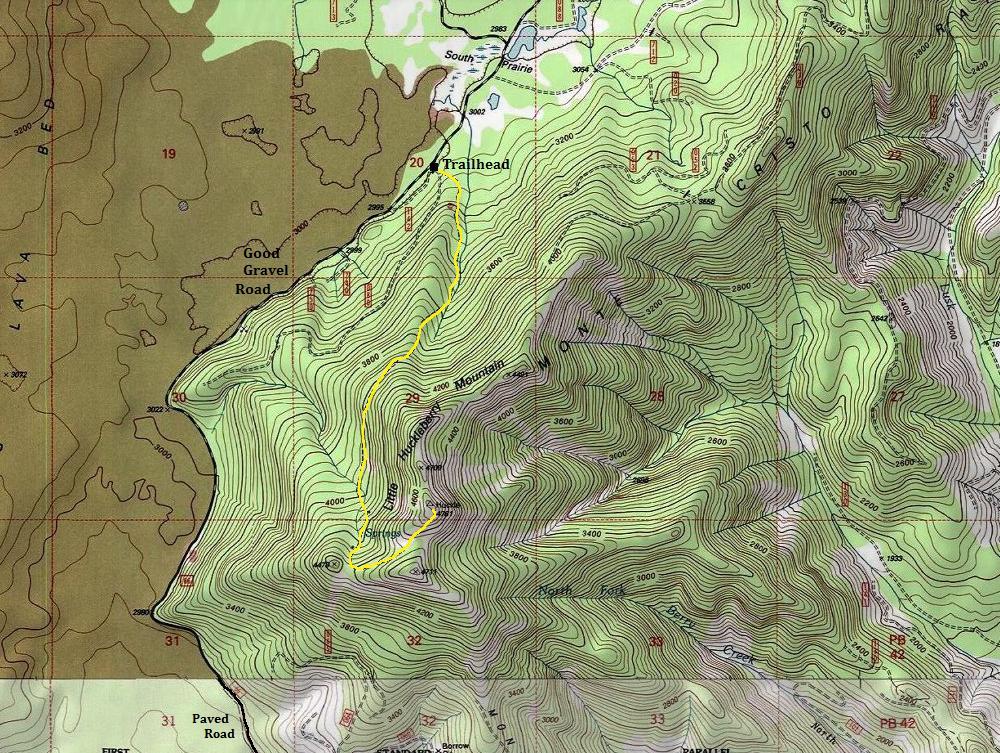 Little Huckleberry Mountain Trail  Gifford Pinchot