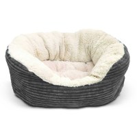 Rosewood 40 Winks Grey Cord Bed
