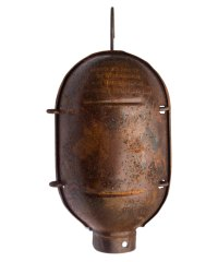 Aged Industrial Rusty Cage (Rustic) - Vintage Lighting ...