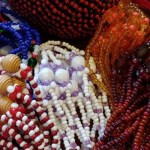 A beautiful collection of ceremonial beads