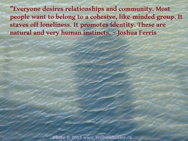 Loneliness teaches us what we really need.
