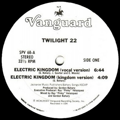 Twilight 22 – Electric Kingdom (melô do Arabe)(1984)
