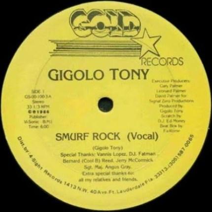 Gigolo Tony – Smurf Rock