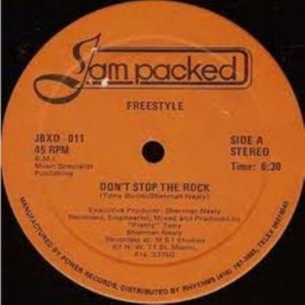 freestyle - dont stop the rock