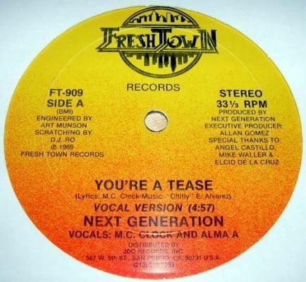 Next Generation - You're A Tease