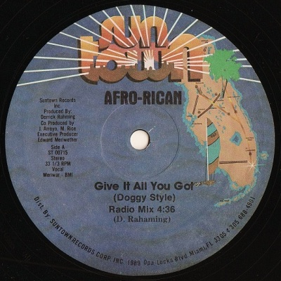 Afro Rican -  Give It All You Got A