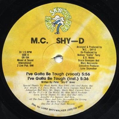 M.C. Shy-D - I've Gotta Be Tough