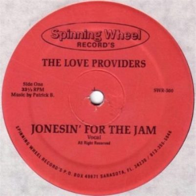 LOVE PROVIDERS - Jonesin' For The Jam