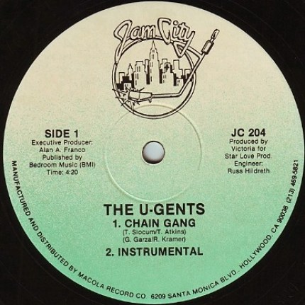 The U-Gents - Chain Gang A