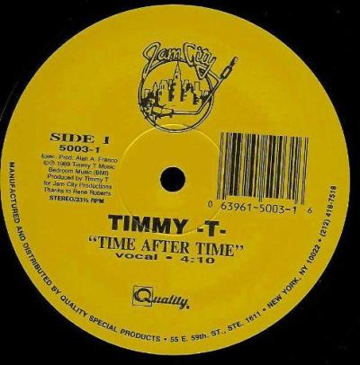 Timmy T - Time After Time 1