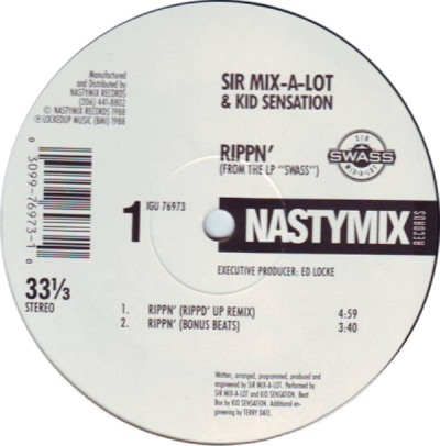 Sir Mix-A-Lot - Rippin' Attack