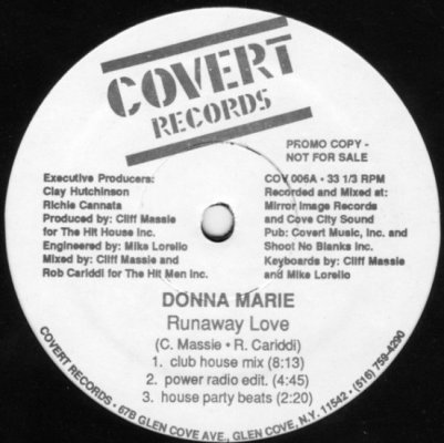 Donna Marie - Runaway Love A
