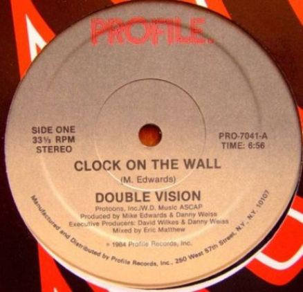 Double Vision - clock On The Wall A