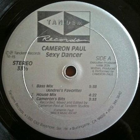 Cameron Paul - Sexy Dancer (1989)