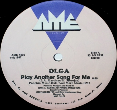Olga - Play Another Song For Me (A)