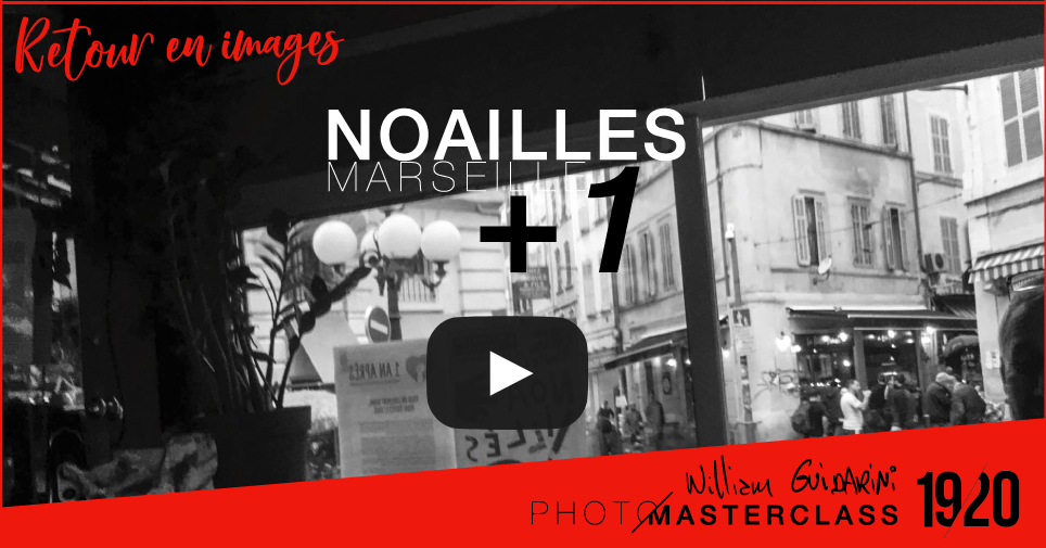 Noailles +1 Photo Masterclass avec William Guidarini
