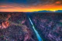 Rio Grand Gorge - Taos Portfolio William Horton