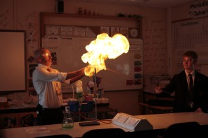 BSW igniting methane bubbles 1
