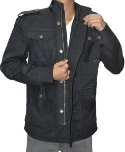 Punisher Cotton Black Jacket