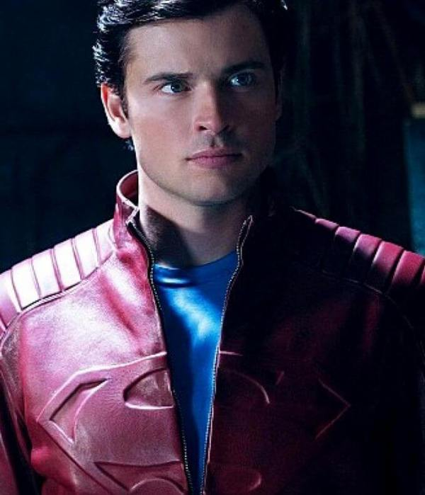 Smallville Super Tom Welling Leather Jacket For Man