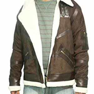 Power 50 Cent Shearling Coat