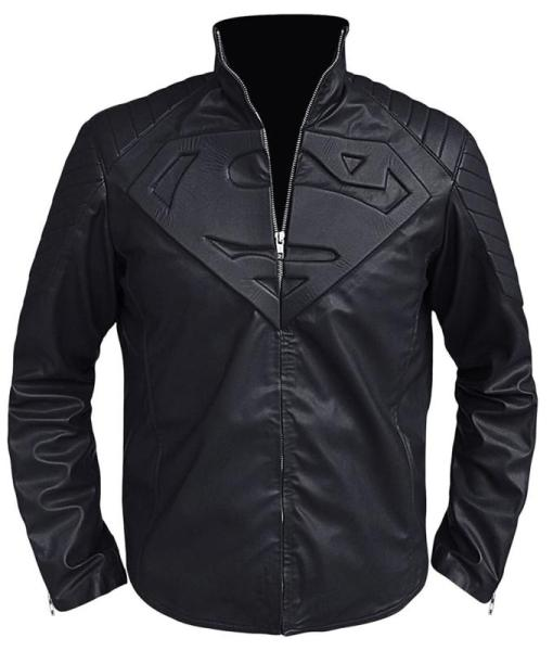 Smallville Black Leather Jacket