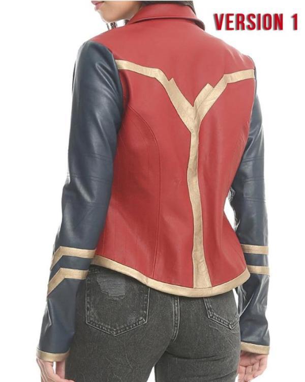 Her Universe Wonder Woman Gal Gadot Leather Jacket