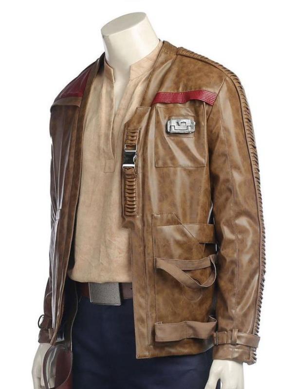 Star Wars Episode 8 Finn Jacket