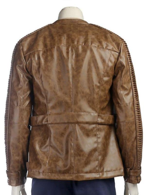 FInn Star Wars The Last Jedi Leather Jacket